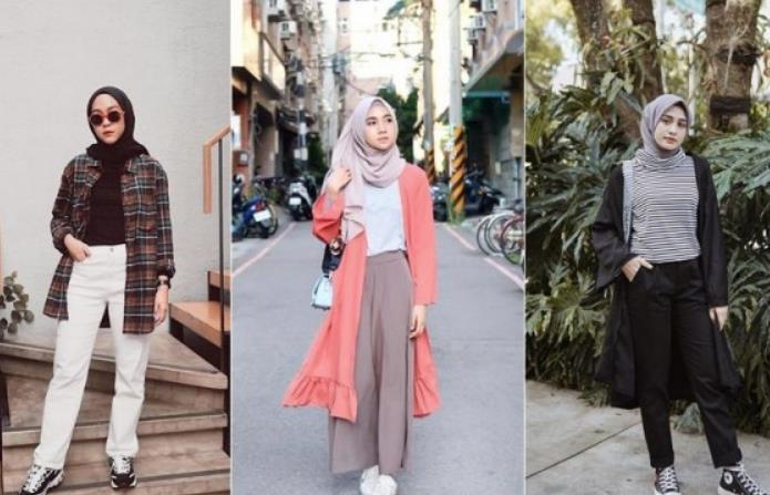 12 Inspirasi Fashion Style Hijab untuk Kuliah